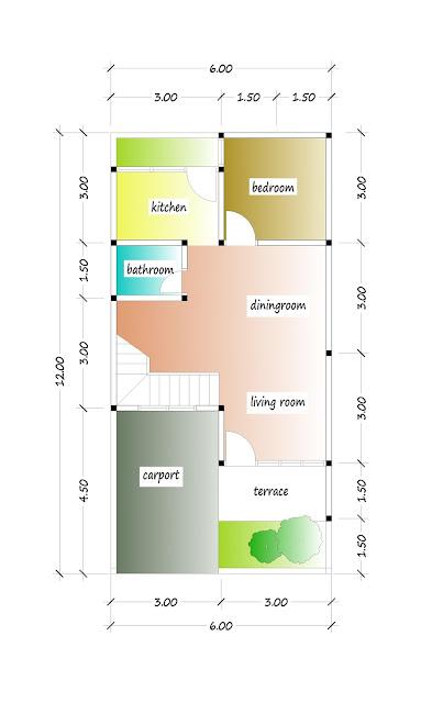 1st floor plan of beautiful house plan 14
