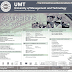 UMT Admission 2019 BS BBA B.COM BFA University of Management and Technology Lahore