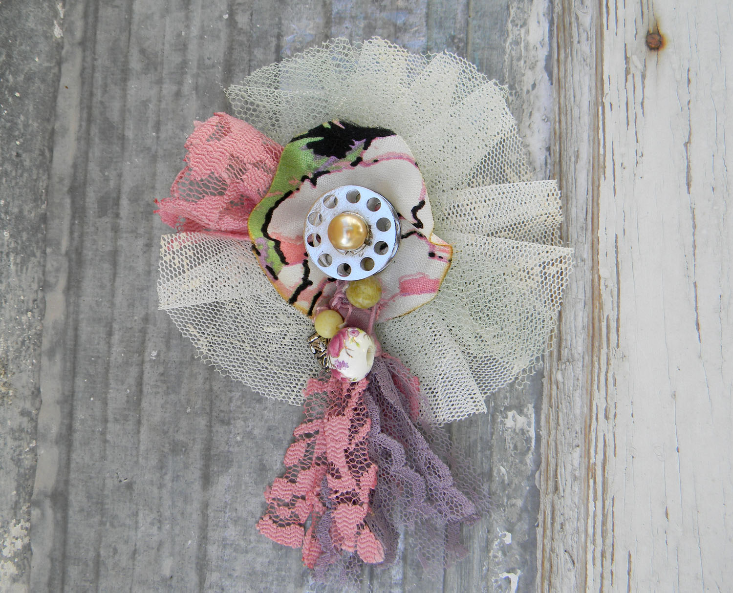 Flower Brooch Handmade Accessories