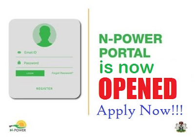 Register Npower @ http://portal.npower.gov.ng | Npower Online Registration