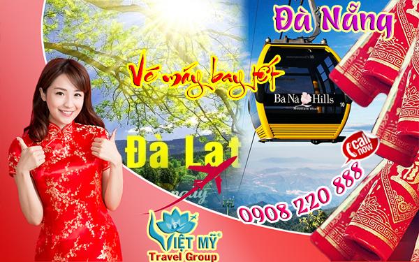 Vé máy bay tết Đà Lạt đi Đà Nẵng 2018