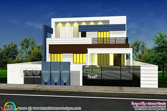 2827 square feet South Indian home