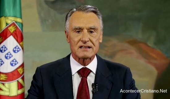 Presidente de Portugal Aníbal Cavaco Silva