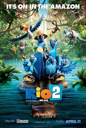 Rio 2 Blu-Ray Filmes Torrent Download capa