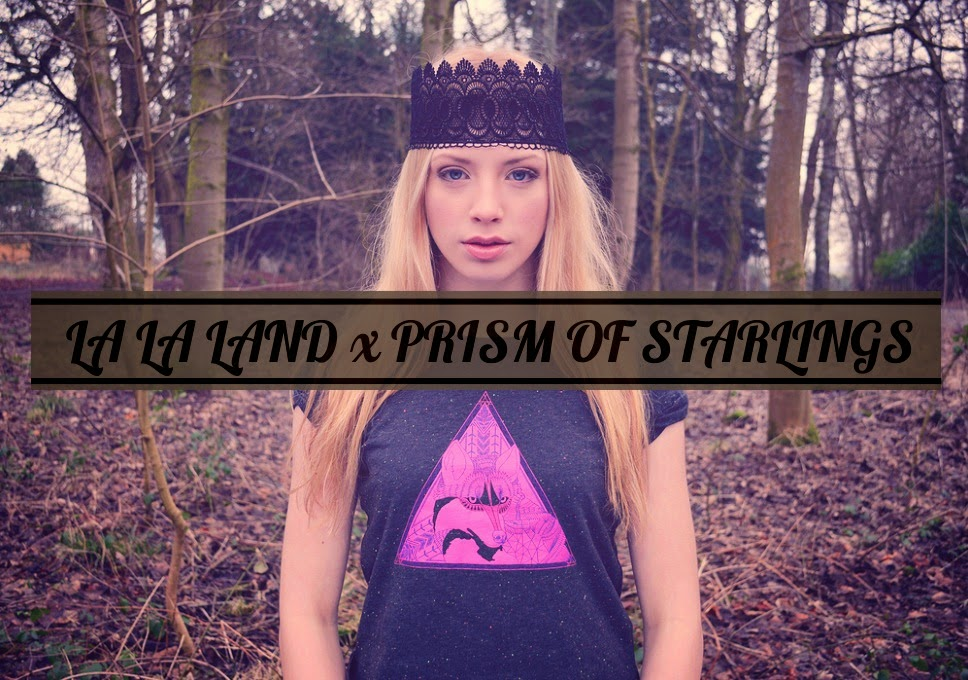 La La Land x Prism of Starlings Fox Cameo Tee