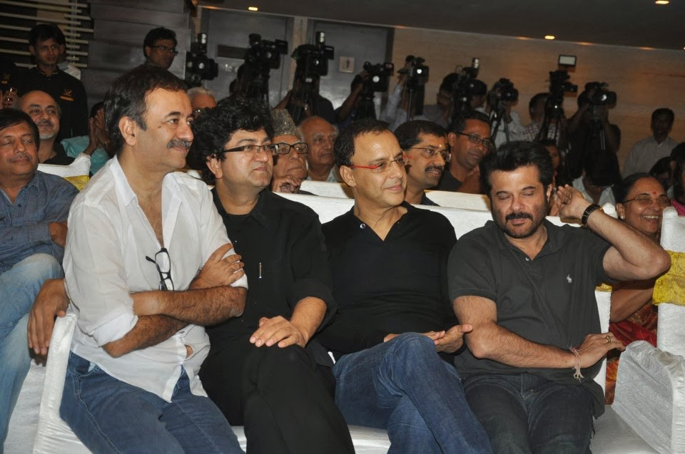 Anil Kapoor & Aamir Khan at the launch of a book 'Sagar Movie Tone' in Mumbai