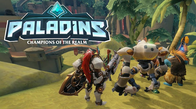 Paladins shooter game