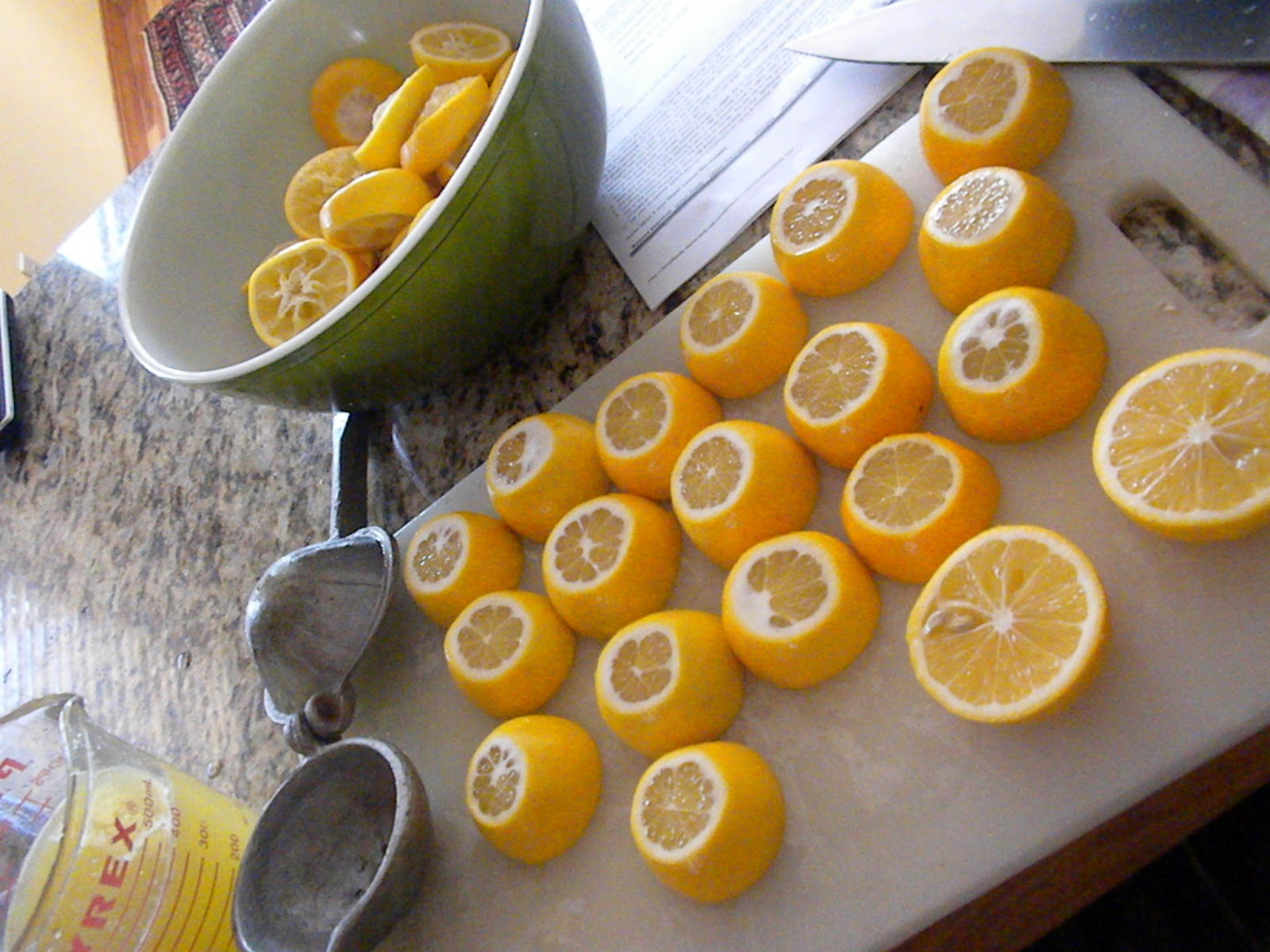 how to make pectin from lemons