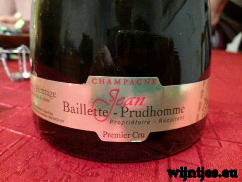 Jean Baillette Prudhomme - Heritage Premier Cru