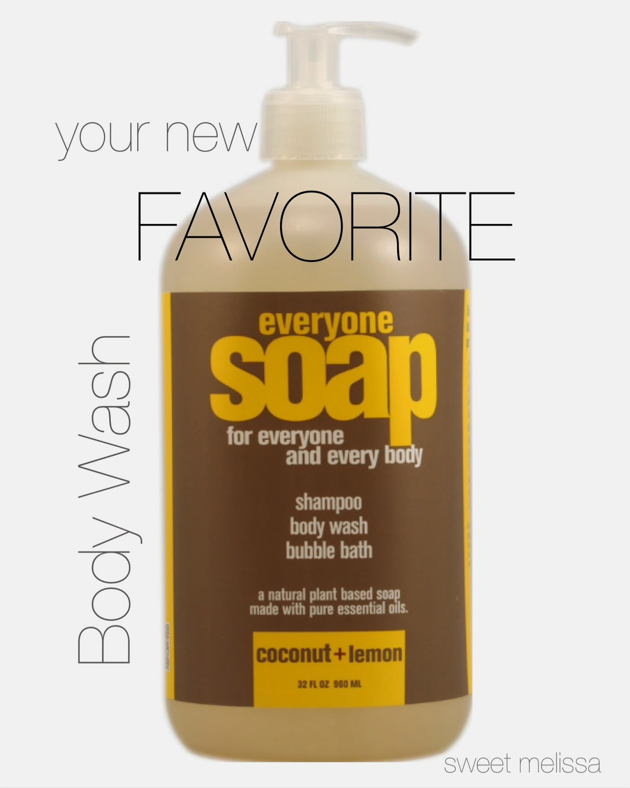 gluten-free mel: Your New Favorite Body Wash: EO Everyone Soap