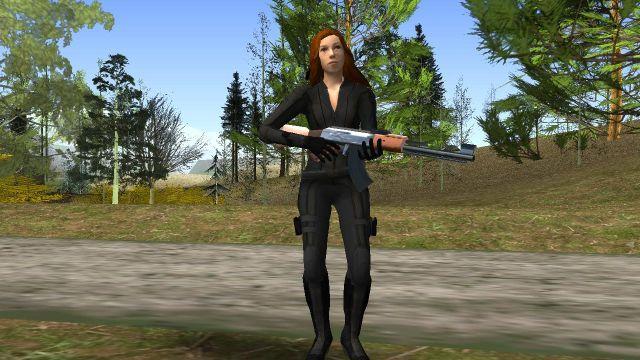 GTA Black Widow - GTA SA modding,GTA V, GTA IV, GTA Vice City,GTA III