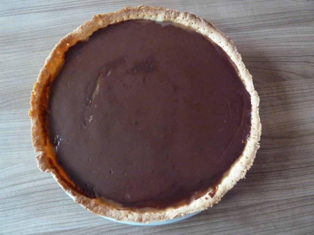 les petites douceurs de luuna tarte caramel beurre sal et chocolat au lait. Black Bedroom Furniture Sets. Home Design Ideas