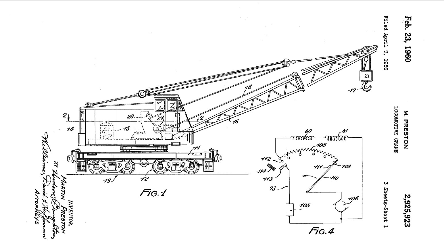Oil Electric Wellmansel Electric Locomotive Crane