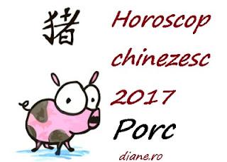 Horoscop chinezesc Porc 2017