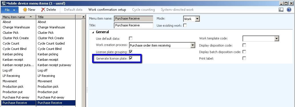 Microsoft Dynamics Consulting Warehouse Management \u0027Auto License