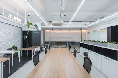 Thiết kế nội thất văn phòng công ty SOLEKIA KEANGNAM