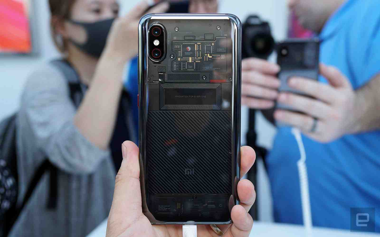 Xiaomi's Mi 8 Explorer Back View