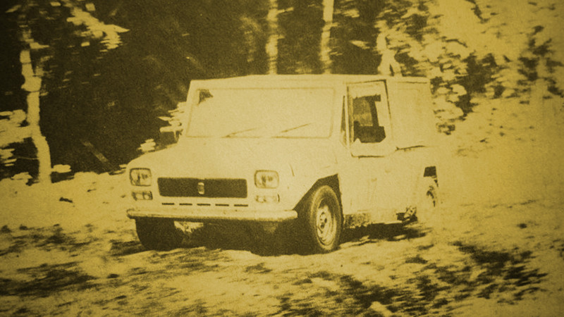 Fiat 127 Malvinas Mobil Motor Lama