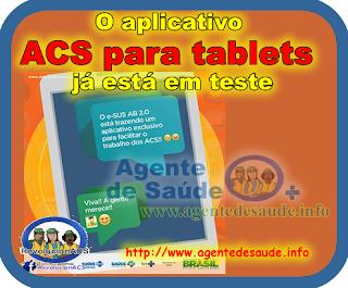 O aplicativo ACS para tablets já está em teste 1