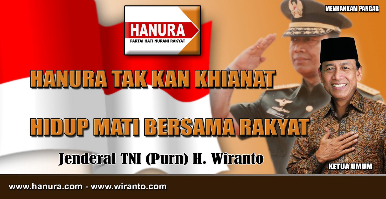 Jend (Purn) Wiranto hanura