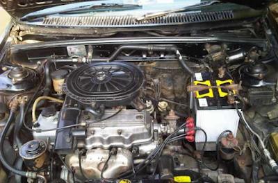 Foto Mesin Mazda 323 Trendy