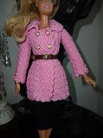 Vestido Ou Casaco de Crochê Para Bonecas Barbie - Criado Por Pecunia MillioM