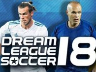 Dream League Soccer 2018 MOD APK v5.00 for Android HACK Unlimited Coins Terbaru Update November 2017