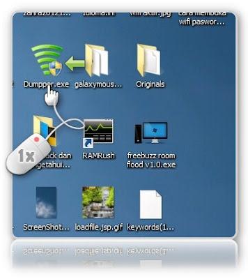 cara membuka password wifi wpa2-psk
