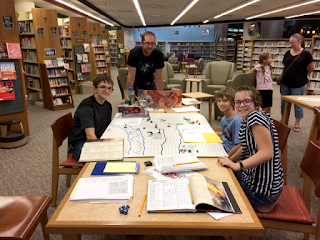 Dungeons & Dragons at the Library