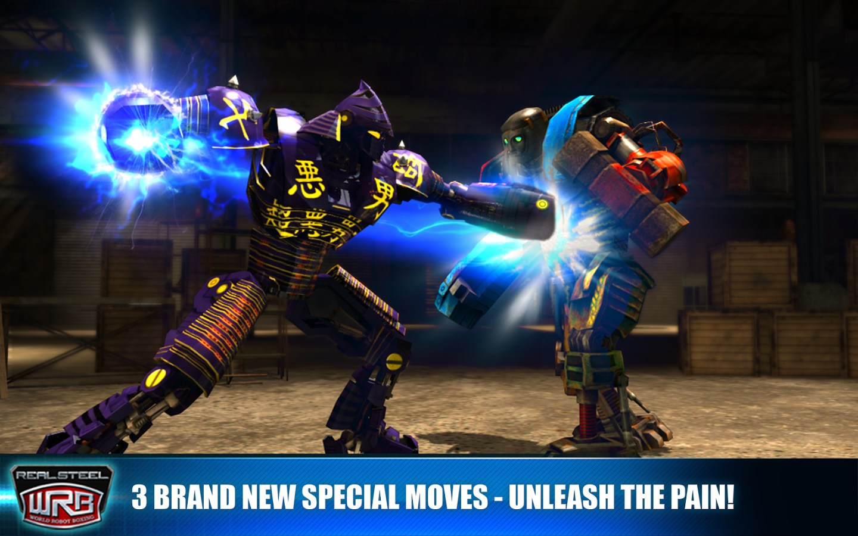Aplikasi Android Free: Real Steel World Robot Boxing 26.26