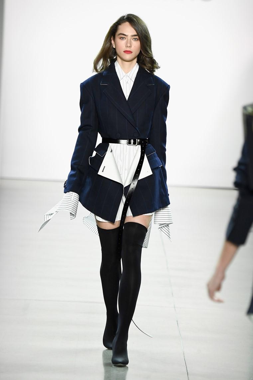 671b2a899a9 fashionably petite  Taoray Wang Fall Winter 2018 at New York Fashion ...