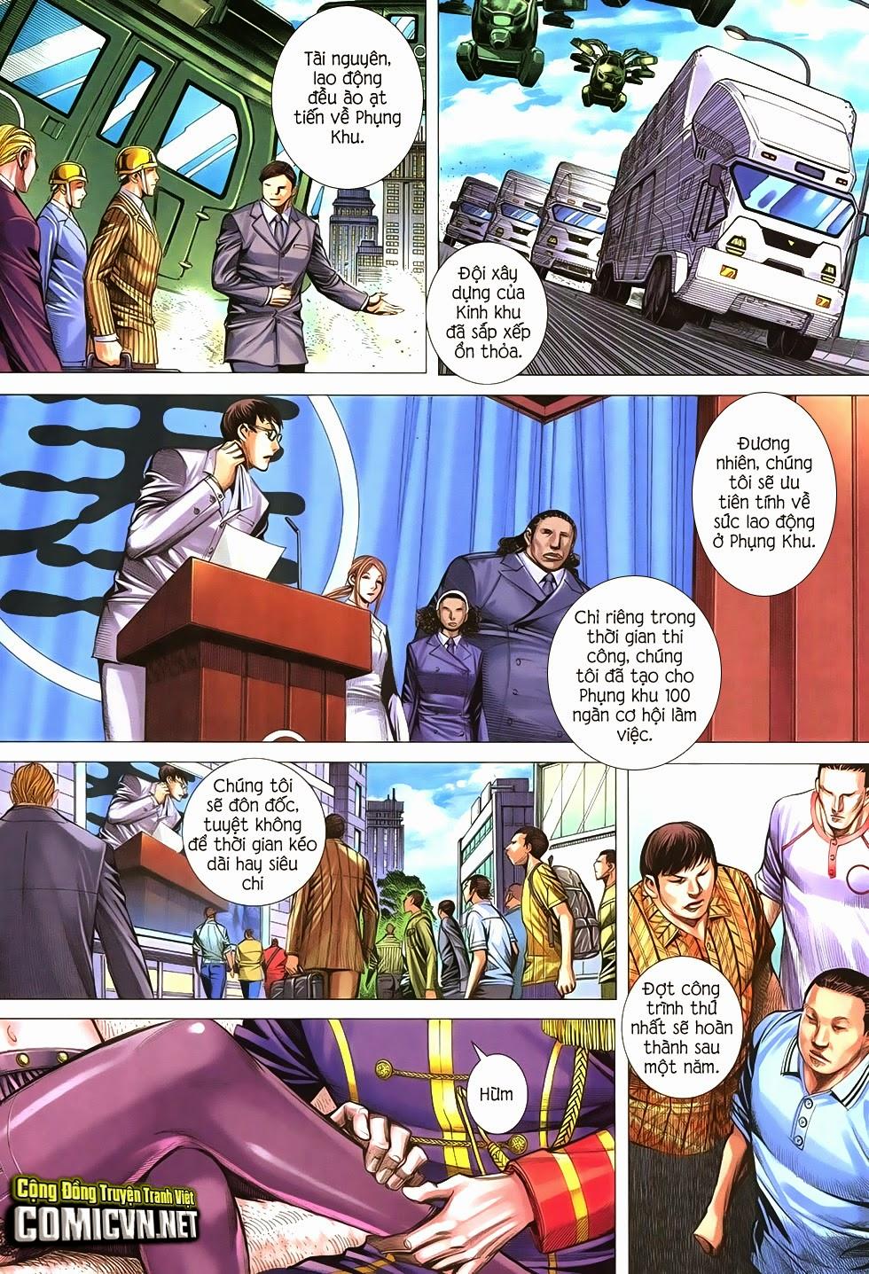 Đại Quân Phiệt chap 21 trang 26