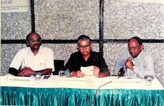 K Srinivasan, Geetha Krishnan and T S Raghavan