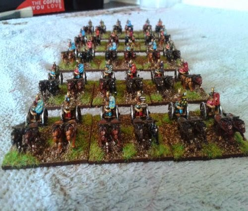 My British chariots are now completed picture 1