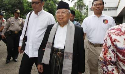 KH Makruf Amin Kunjungi PWNU DKI