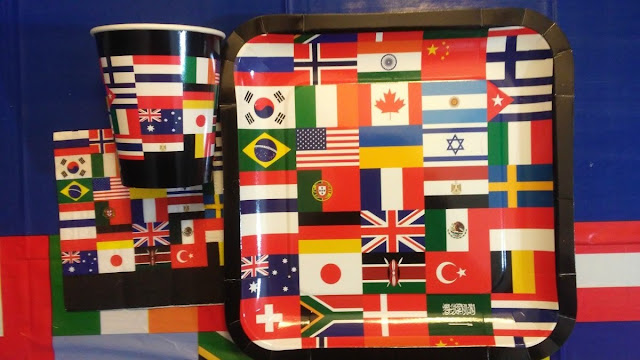 Olympics, Olympics Table Setting