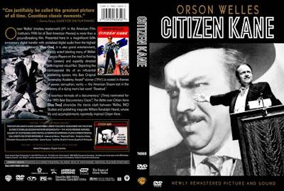 Carátula dvd: Ciudadano Kane (1941) Citizen Kane