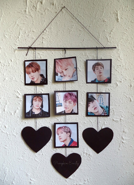 DIY BTS Wall Decor