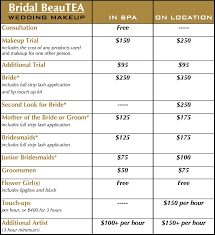 Prices For Wedding Makeup