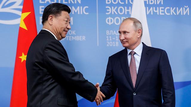 """Medios de EE.UU. auguran que Rusia y China forman una """"Entente Oriental"""""""