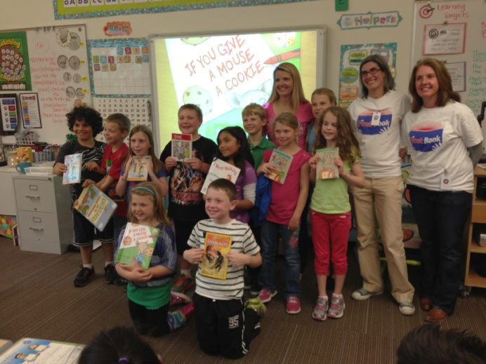 First Book Seattle John Muir Elementary Book Distribution By