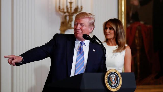 """Trump: """"China recibió una golpiza tan fuerte en las negociaciones que espera mi derrota en el 2020 para seguir robándonos"""""""