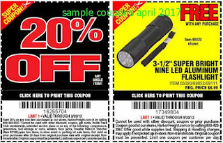 Harbor Freight coupons for april 2017