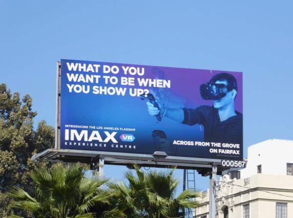 IMAX VR Experience Centre LA Flagship billboard
