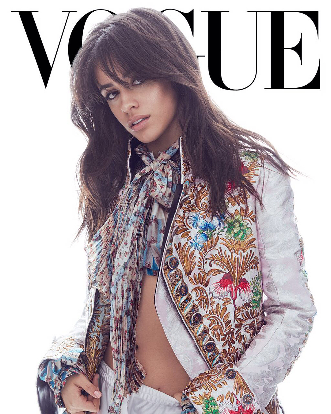 Camila Cabello sizzles for Vogue Mexico March 2018