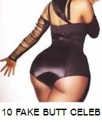 10 Famous People Caught With Fake Behinds