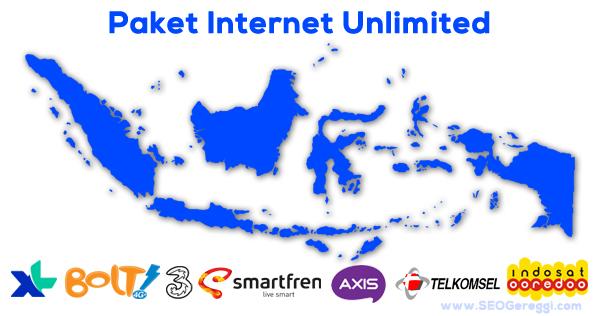 Daftar Paket Internet Unlimited Terbaru Semua Operator