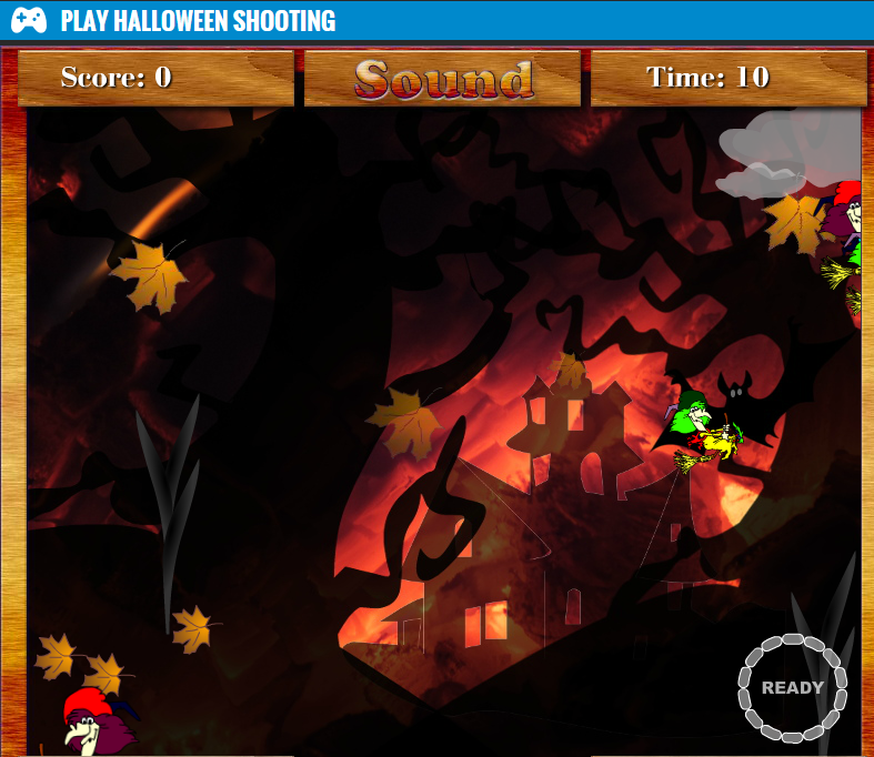 Play Halloween Shooting Game Online Free Unblocked Games
