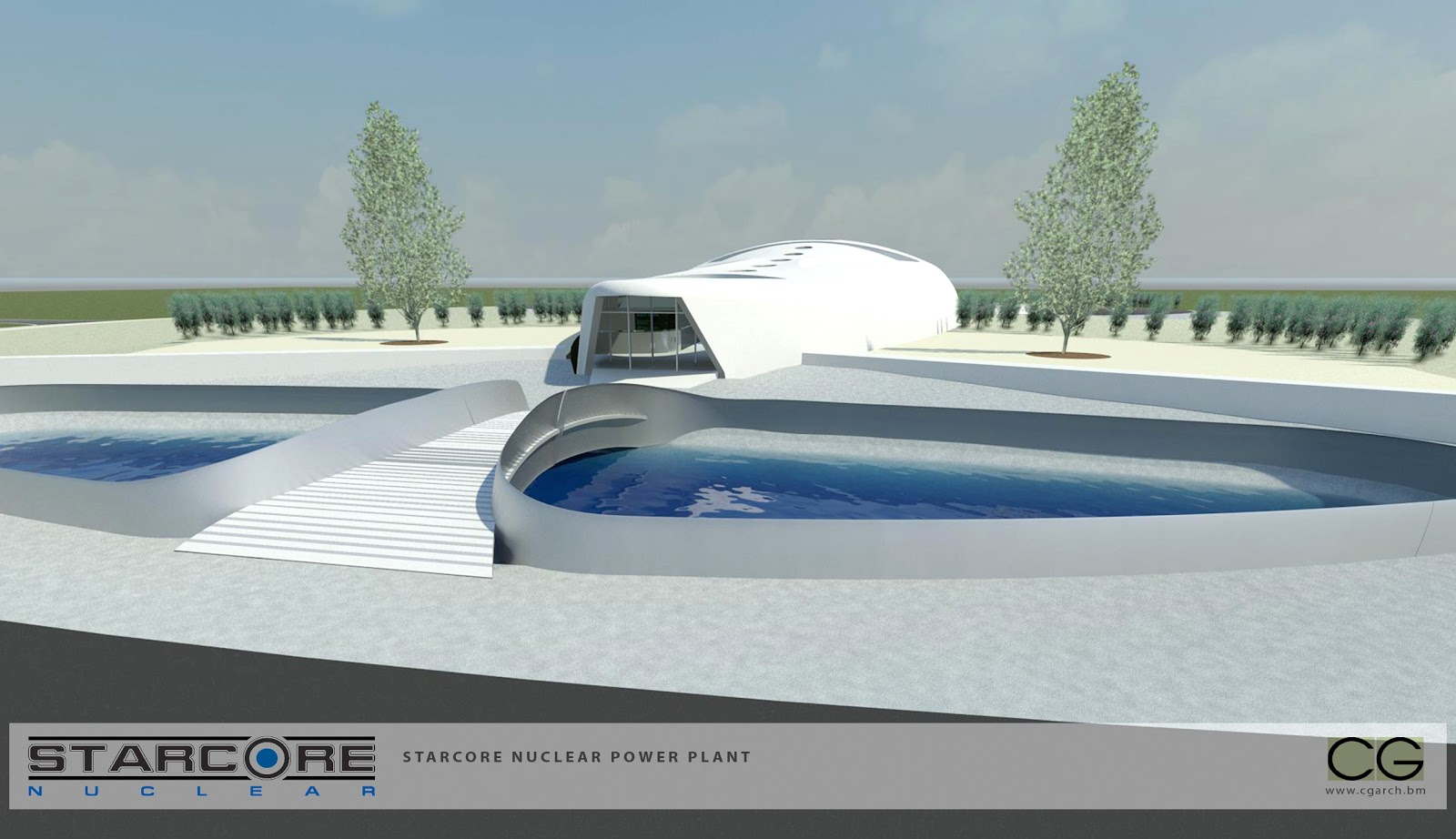 Starcore nuclear high temperature gas reactor and northern for Pool design reactor