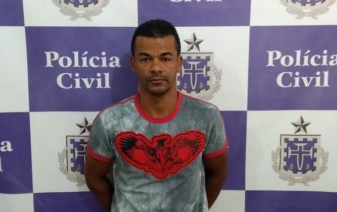 Polícia Civil prende em Jacobina homem acusado de roubo em Juazeiro